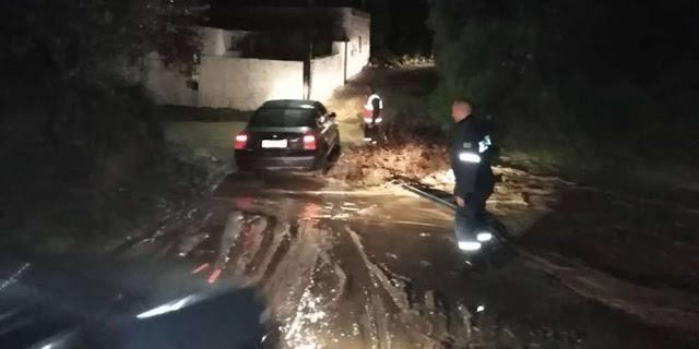 Συναγερμός στην Κω: Ξεχείλισαν τα ποτάμια και αποκλείστηκαν δρόμοι! [βίντεο] - Φωτογραφία 1