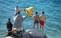 ΚΑΝΔΗΛΑ: Ο Αγιασμός των Υδάτων στην παραλία