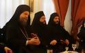 11517 - Φωτογραφίες από την υποδοχή του Σεβ. Μητροπολίτη Ν. Ιωνίας κ. Γαβριήλ στην Ιερά Μονή Σίμωνος Πέτρας του Αγίου Όρους - Φωτογραφία 10