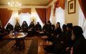 11517 - Φωτογραφίες από την υποδοχή του Σεβ. Μητροπολίτη Ν. Ιωνίας κ. Γαβριήλ στην Ιερά Μονή Σίμωνος Πέτρας του Αγίου Όρους - Φωτογραφία 9
