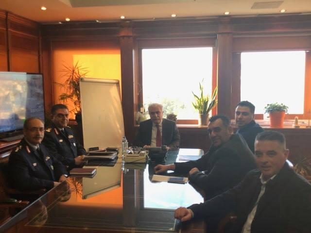 Συνάντηση με τον Αρχηγό της ΕΛΑΣ - Δέσμευση για ενίσχυση της ΓΑΔΘ στις τακτικές μεταθέσεις - Φωτογραφία 2