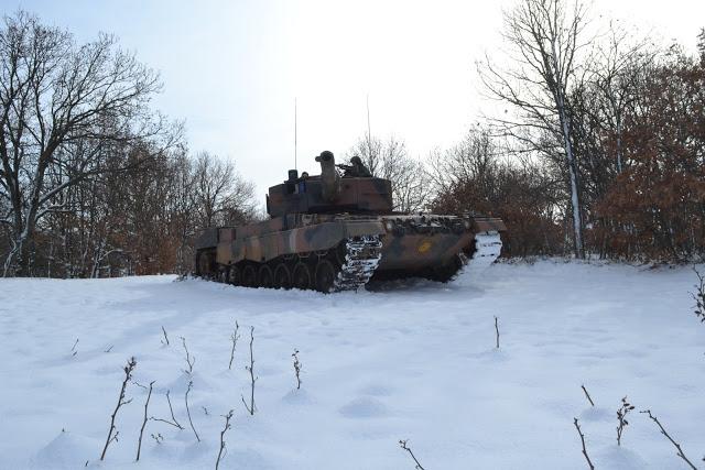 Εντυπωσιακές φωτό: Ο Στρατός Ξηράς στα Χιόνια - Φωτογραφία 8