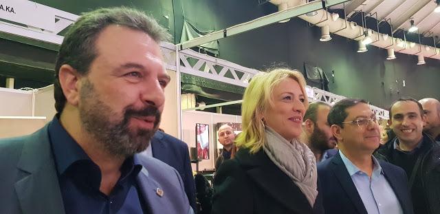 H Περιφερειάρχης Αττικής στην Athens Cannabis Expo 2019 - Φωτογραφία 1