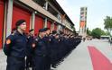 Η Πυροσβεστική Υπηρεσία της πόλης των Σκοπίων