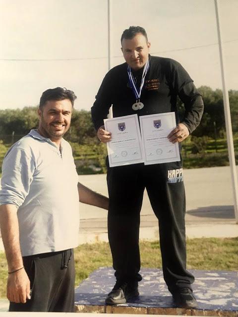 Ένα χρυσό και ένα ασημένιο για τον Πυρονόμο Ηλία Παλιεράκη στους Πανελλήνιους Αγώνες Σκοποβολής - Φωτογραφία 1