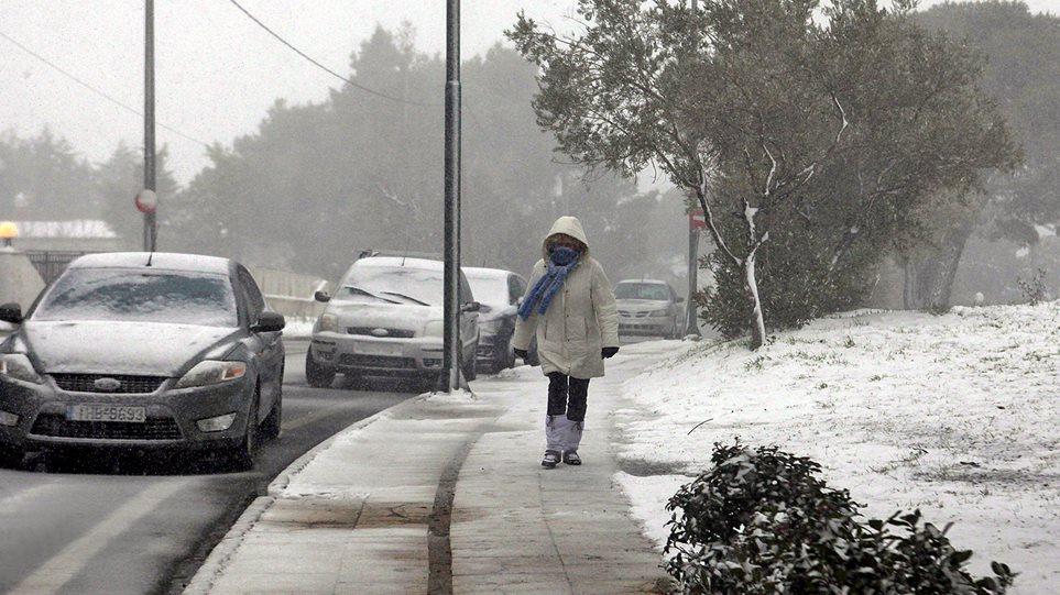 Εκτακτο δελτίο κακοκαιρίας: Χιόνια Τετάρτη και Πέμπτη, ακόμα και στην Αττική και παγωνιά - Φωτογραφία 1