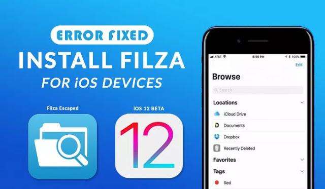 Η εφαρμογή εξερεύνησης αρχείων Filza ενημερώθηκε για το iOS 12 - Φωτογραφία 1