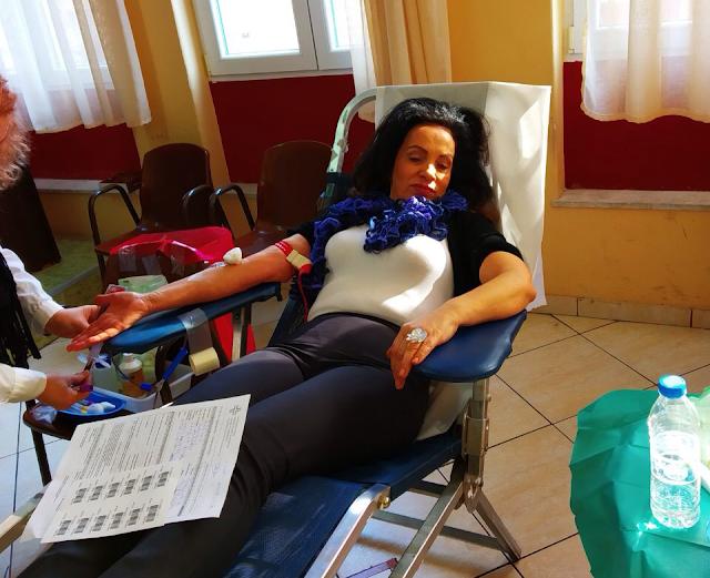 Με ικανοποιητική συμμετοχή η εθελοντική αιμοδοσία της ΠΑΝΑΙΤΩΛΟΑΚΑΡΝΑΝΙΚΗΣ ΣΥΝΟΜΟΣΠΟΝΔΙΑΣ (ΠΑΝ.ΣΥ) - Φωτογραφία 1