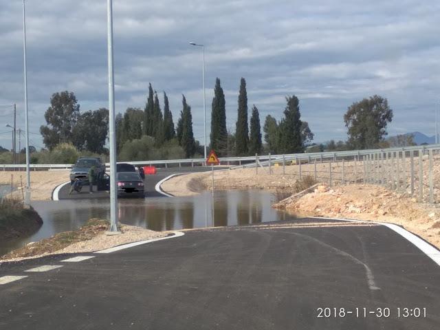 Κατασκευαστικές ατέλειες στη διασταύρωση με ΒΟΝΙΤΣΑ του δρόμου Άκτιο –Αμβρακία καταγγέλλει ο βουλευτής Λευκάδας Θανάσης Καββαδάς στον υπουργό Υποδομών - Φωτογραφία 1