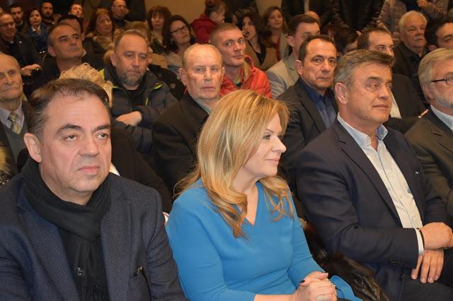ΑΓΡΙΝΙΟ: ΦΩΤΟ από την εκδήλωση παρουσίασης των υποψηφίων του Απόστολου Κατσιφάρα - Φωτογραφία 3