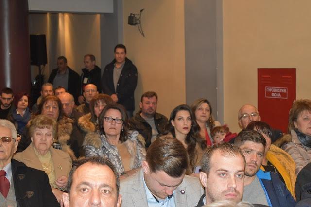 ΑΓΡΙΝΙΟ: ΦΩΤΟ από την εκδήλωση παρουσίασης των υποψηφίων του Απόστολου Κατσιφάρα - Φωτογραφία 5
