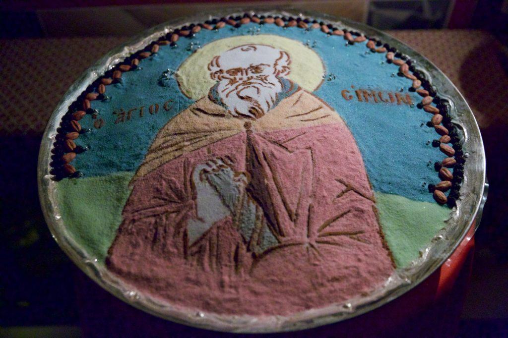 Ιερά Μονή Σίμωνος Πέτρας. Αρχιερατική Θεία Λειτουργία επί τη εορτή του αγίου Σίμωνος, κτήτορος της Μονής (φωτογραφίες) - Φωτογραφία 2