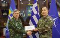 Ο Συνταγματάρχης Ιωάννης Χρήστου βραβεύτηκε ως Επιτελής της χρονιάς στο NRDC-GR
