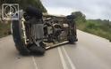 Τροχαίο ατύχημα στον αιματοβαμμένο δρόμο Αμφιλοχίας – Βόνιτσας