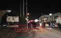 Αυτοκίνητο καρφώθηκε σε λεωφορείο μετά από ληστεία στο Μενίδι