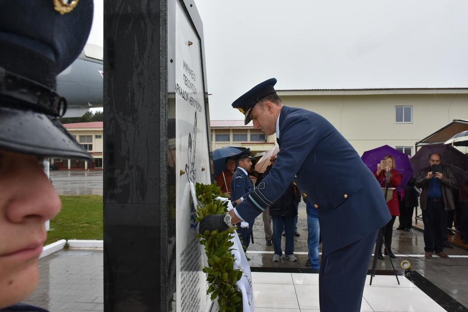 ΓΕΑ: Παρών ο Α/ΓΕΑ Μπλιούμης στα αποκαλυπτήρια Μνημείου πεσόντων Αρκάδων Αεροπόρων - ΦΩΤΟ - Φωτογραφία 10