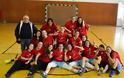 Η ομάδα νεανίδων του Κεραυνού Αγίου Γεωργίου Γρεβενών στην Θεσσαλονίκη για τη Β' φάση του Πανελληνίου Πρωταθλήματος