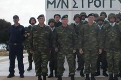 Επίσκεψη του Αρχηγού ΓΕΣ, Γεώργιου Καμπά, στις νήσους Ρω, Στρογγύλη, Μεγίστη και Σύμη (φώτο)