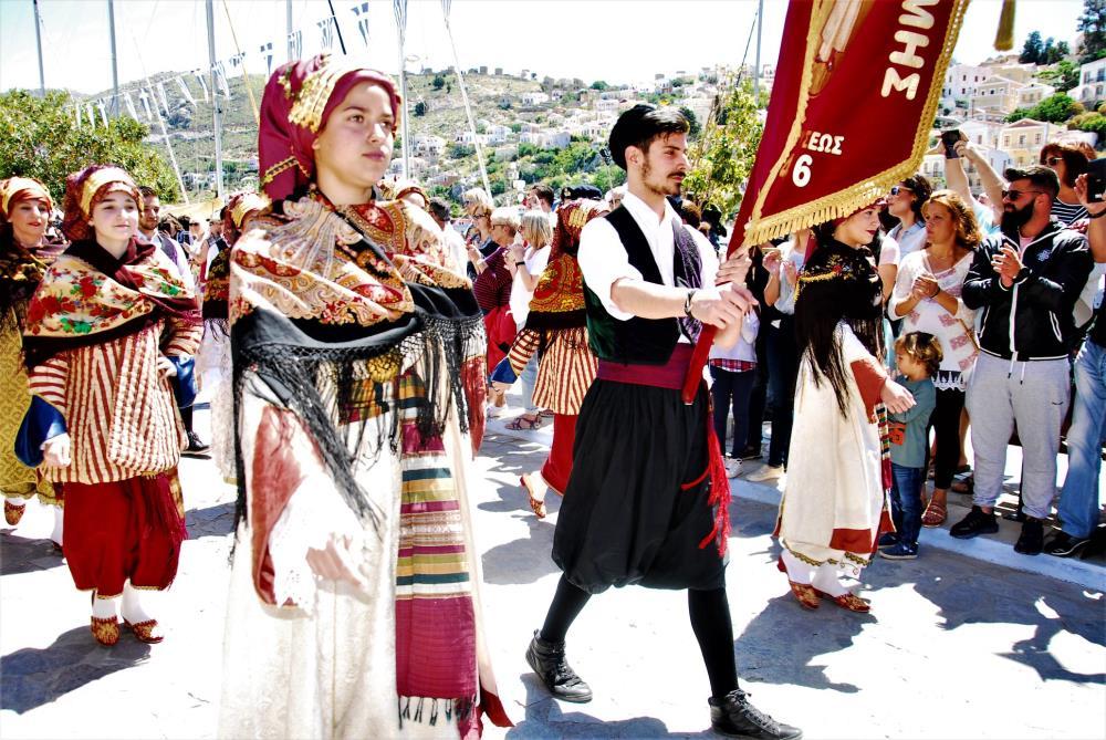 Η ιστορική επέτειος της 8ης Μαΐου στην Σύμη - Φωτογραφία 4
