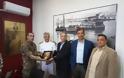 Διόπτρες τυφεκίων δώρισαν οι Απόστρατοι στο Κεντρικό Λιμεναρχείο Πειραιά