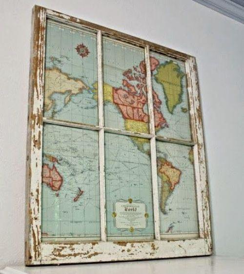 ΚΑΤΑΣΚΕΥΕΣ - ΦΟΒΕΡΟ!!! Μην πετάτε τους παλιούς σας χάρτες! Δείτε πώς θα σας χρησιμεύσουν! - Φωτογραφία 1