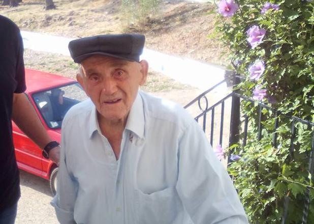 Πέθανε σε ηλικία 106 ετών ο Μπάρμπα-Γιάννης Ζορμπάς απο την Χρυσοβίτσα, ο γηραιότερος άνθρωπος στο Ξηρόμερο! - Φωτογραφία 1