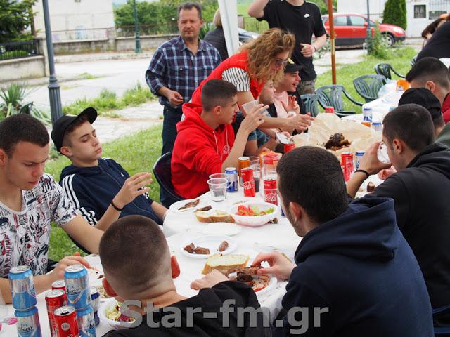 Ο Πρωτέας Γρεβενών γιόρτασε, για δεύτερη χρονιά, τον πολιούχο της πόλης, στην Κοκκινιά (εικόνες + video) - Φωτογραφία 42