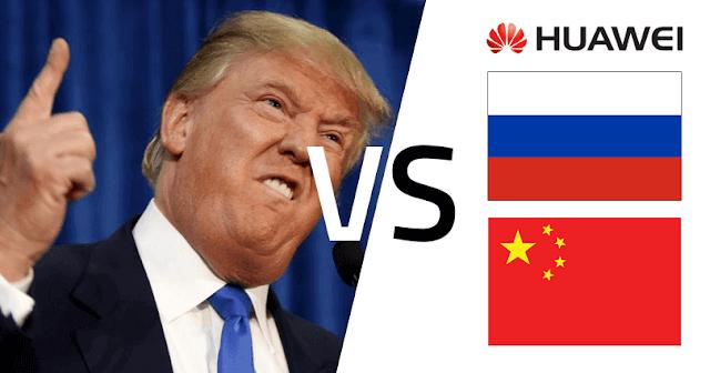 Ο Donald Trump απαγορεύει στις εταιρείες πληροφορικής των ΗΠΑ να χρησιμοποιούν τεχνολογία Huawei - Φωτογραφία 1