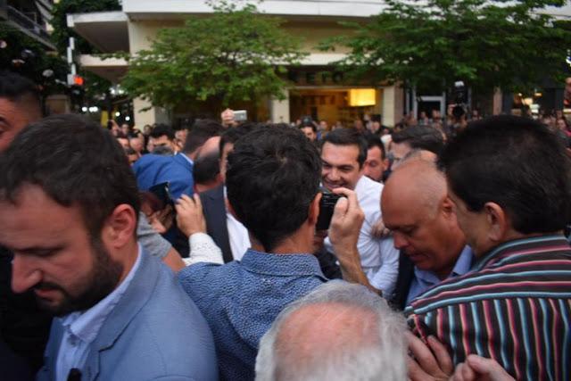 Αλ. Τσίπρας από Αγρίνιο: «Όλα αυτά τα χρόνια πορευτήκαμε με μοναδικό γνώμονα την Ελλάδα των πολλών» – Οι αναφορές στην Αιτωλοακαρνανία (VIDEO + ΦΩΤΟ) - Φωτογραφία 19