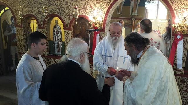 Εγκαίνια Ιερού Ναού Αγίου Νικολάου στην Άνοιξη Γρεβενών (εικόνες) - Φωτογραφία 17