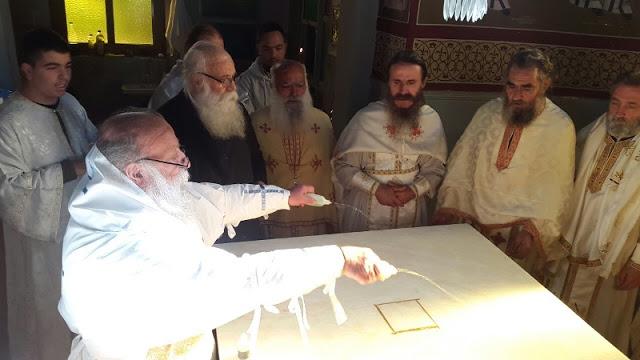 Εγκαίνια Ιερού Ναού Αγίου Νικολάου στην Άνοιξη Γρεβενών (εικόνες) - Φωτογραφία 2
