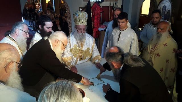 Εγκαίνια Ιερού Ναού Αγίου Νικολάου στην Άνοιξη Γρεβενών (εικόνες) - Φωτογραφία 22