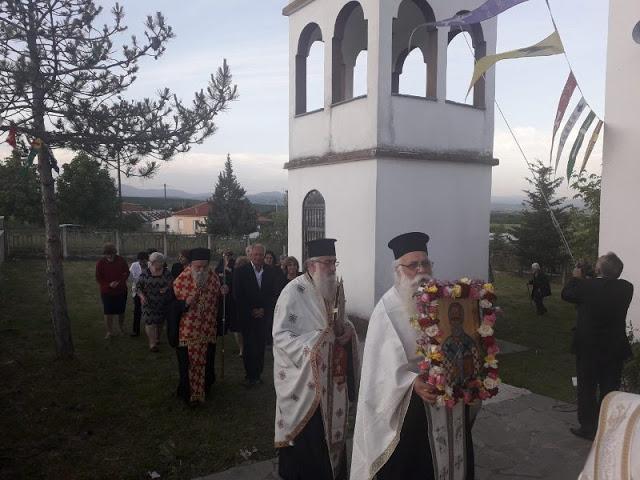Εγκαίνια Ιερού Ναού Αγίου Νικολάου στην Άνοιξη Γρεβενών (εικόνες) - Φωτογραφία 27