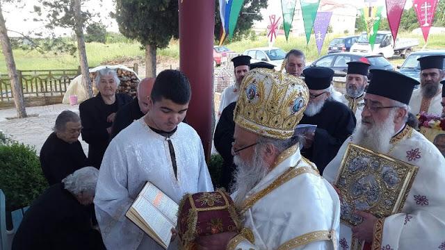 Εγκαίνια Ιερού Ναού Αγίου Νικολάου στην Άνοιξη Γρεβενών (εικόνες) - Φωτογραφία 32