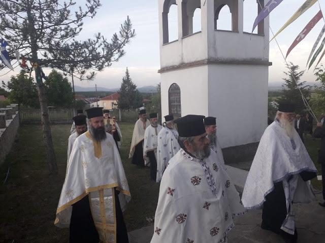 Εγκαίνια Ιερού Ναού Αγίου Νικολάου στην Άνοιξη Γρεβενών (εικόνες) - Φωτογραφία 45