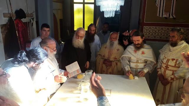 Εγκαίνια Ιερού Ναού Αγίου Νικολάου στην Άνοιξη Γρεβενών (εικόνες) - Φωτογραφία 49