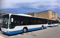 Αναβαθμίζονται οι αστικές συγκοινωνίες στο νησί, με τα τέσσερα νέα λεωφορεία που παρέλαβε η ΔΕΣ ΡΟΔΑ.