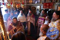 12106 - Πανηγύρισε το Βατοπαιδινό Κελλί του Αγίου Νικολάου Αμμωνά (φωτογραφίες) - Φωτογραφία 1