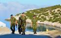 Επίσκεψη Αρχηγού ΓΕΣ στις νήσους Κάλυμνο, Πάτμο, Λέρο, Καλόλιμνο και Φαρμακονήσι