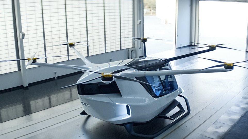 BMW βάζει την υπογραφή της σε ιπτάμενο όχημα - Φωτογραφία 1
