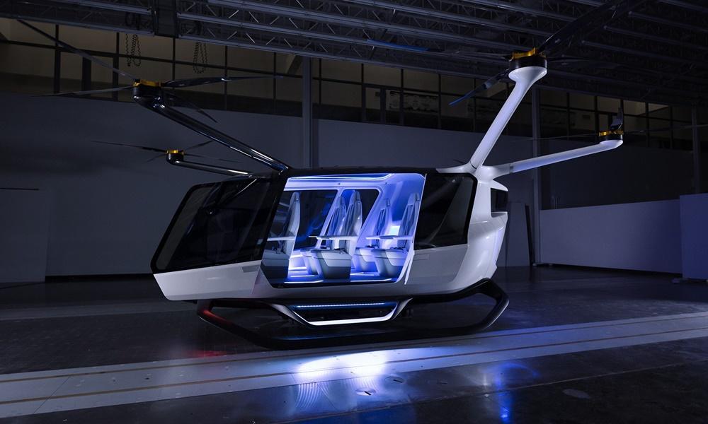 BMW βάζει την υπογραφή της σε ιπτάμενο όχημα - Φωτογραφία 2