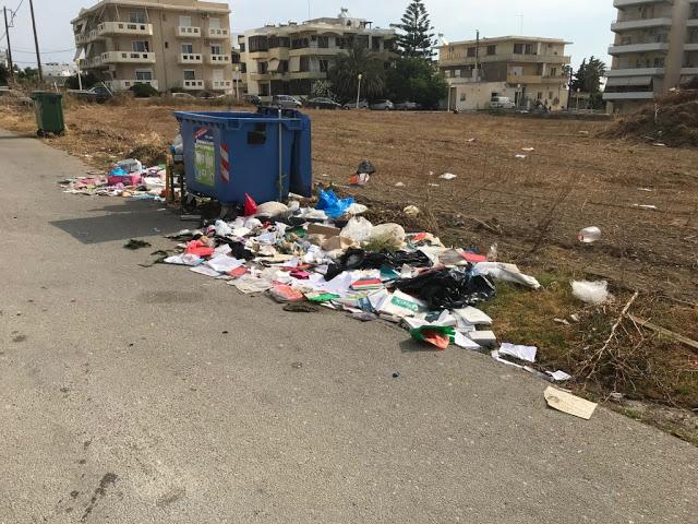 Κορακόνερο ώρα μηδέν: σκουπίδια και ξερόχορτα - φωτος - Φωτογραφία 2