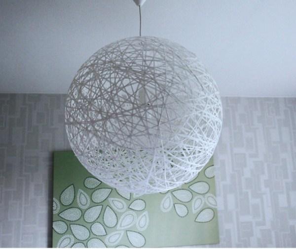 ΚΑΤΑΣΚΕΥΕΣ - Φτιάξτε το πιο εντυπωσιακό DIY φωτιστικό με μπάλα pilates - Φωτογραφία 1