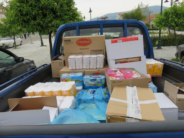 Ο Σύλλογος Γυναικών Αστακού ευχαριστεί όσους προσέφεραν τρόφιμα και χρήματα σε άπορες οικογένειες - Φωτογραφία 2