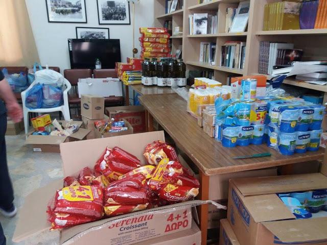 Ο Σύλλογος Γυναικών Αστακού ευχαριστεί όσους προσέφεραν τρόφιμα και χρήματα σε άπορες οικογένειες - Φωτογραφία 3