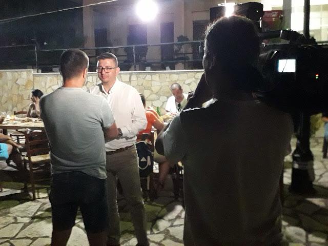 Με πρωτοβουλία του νέου Δημάρχου ΓΙΑΝΝΗ ΤΡΙΑΝΤΑΦΥΛΛΑΚΗ, επίσκεψη Τουριστικών Πρακτόρων και Δημοσιογράφων στο ΞΗΡΟΜΕΡΟ -ΦΩΤΟ - Φωτογραφία 2