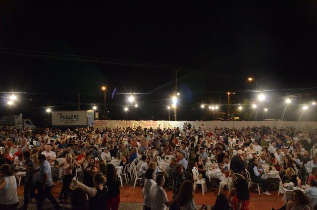 Με πολύ κόσμο πραγματοποιήθηκε το πανηγύρι Γιορτή Λαού 2019 στη Γέφυρα Αχελώου Αγρινίου -ΦΩΤΟ - Φωτογραφία 1