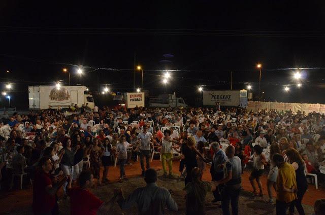 Με πολύ κόσμο πραγματοποιήθηκε το πανηγύρι Γιορτή Λαού 2019 στη Γέφυρα Αχελώου Αγρινίου -ΦΩΤΟ - Φωτογραφία 44