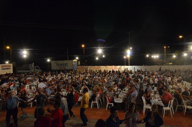 Με πολύ κόσμο πραγματοποιήθηκε το πανηγύρι Γιορτή Λαού 2019 στη Γέφυρα Αχελώου Αγρινίου -ΦΩΤΟ - Φωτογραφία 47