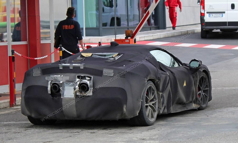 Υβριδική Ferrari με V6 κινητήρα - Φωτογραφία 2